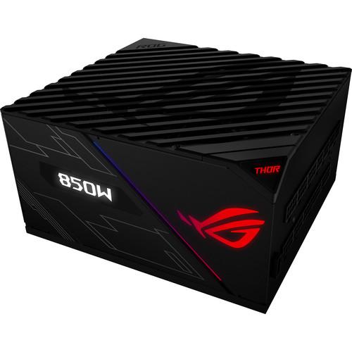 ASUS Rog Thor 850 80Plus Platinum 850W Fully Modular RGB PowerSupply/Livedash OLED Panel/10 Year Warranty