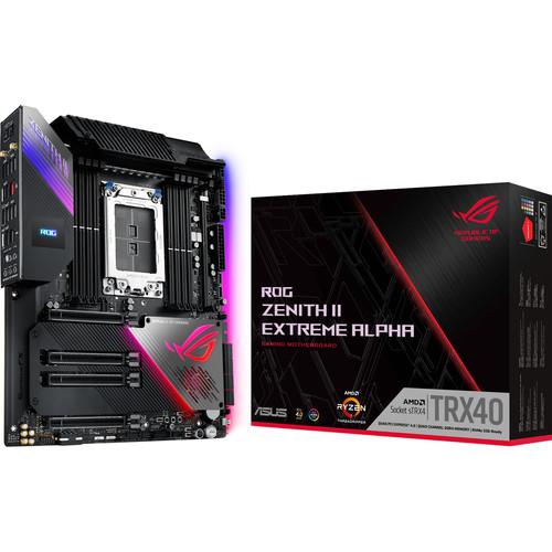 ASUS ROG Zenith II Extreme Alpha TRX40 E-ATX Motherboard