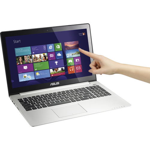 "ASUS VivoBook S500CA-DS51T 15.6"" Multi-Touch Ultrabook Computer (Black)"