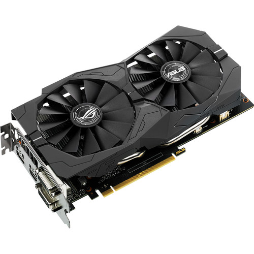 ASUS Republic of Gamers Strix GeForce GTX 1050 Ti OC Edition Graphics Card
