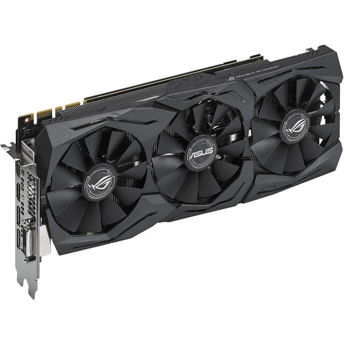 ASUS Republic of Gamers Strix GeForce GTX 1080 Graphics Card