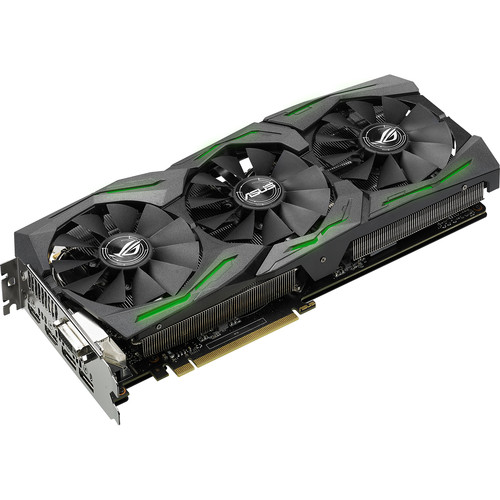ASUS Republic of Gamers Strix OC GeForce GTX 1080 Graphics Card