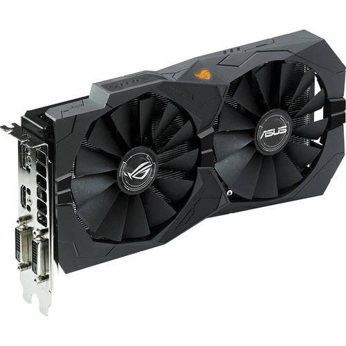 ASUS Republic of Gamers Strix OC 4G Radeon RX 470 Graphics Card