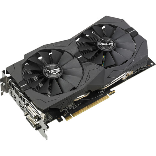 ASUS Republic of Gamers Strix 4G Radeon RX 570 Graphics Card