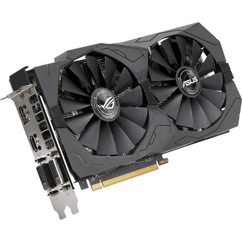 ASUS Republic of Gamers Strix 4G OC Radeon RX 570 Graphics Card