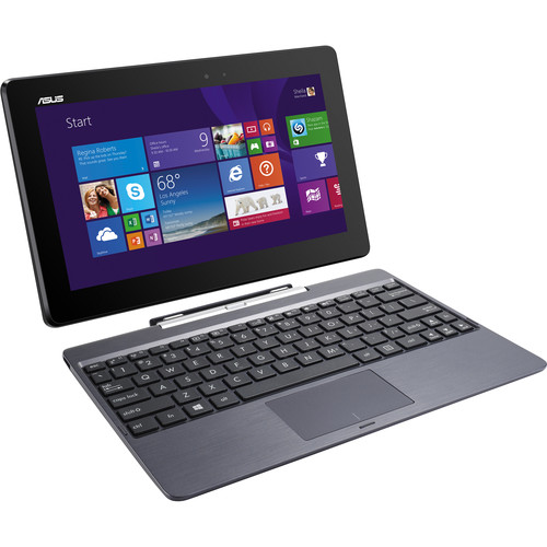 ASUS 32GB eMMC & 500GB HDD T100 Series Transformer Book (Gray)