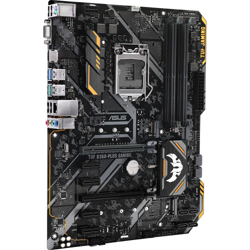 ASUS TUF B360-Plus Gaming LGA 1151 ATX Motherboard