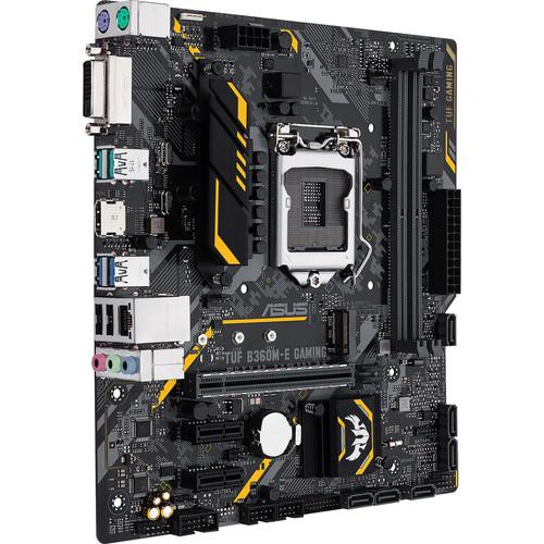 ASUS TUF B360M-E Gaming LGA 1151 Micro-ATX Motherboard