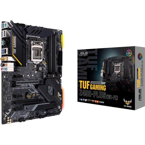 ASUS TUF Gaming Z490-Plus LGA 1200 ATX Motherboard (Wi-Fi)