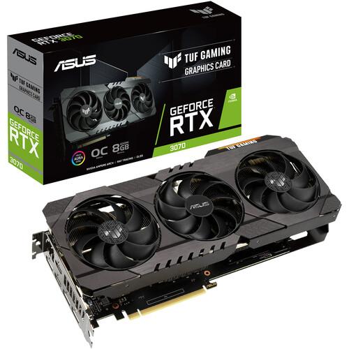 ASUS TUF Gaming GeForce RTX 3070 OC Graphics Card