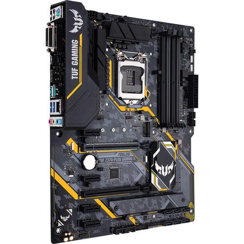 ASUS Tuf Z370-Plus Gaming II LGA1151(8Th Gen)DDR4 HDMI DVI M.2 Z370 II ATX Motherboard/Gigabit LAN/USB3.1