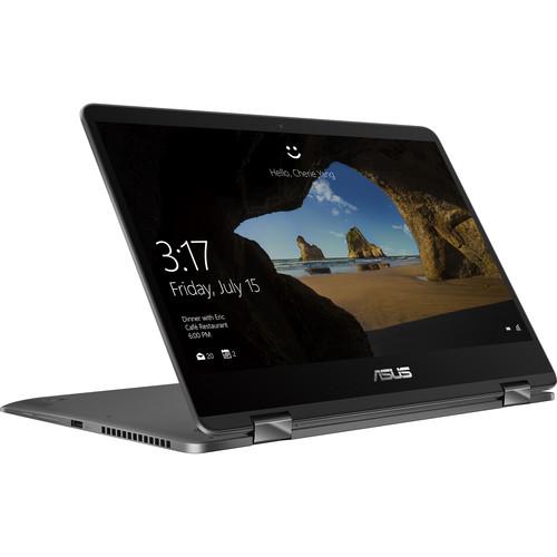 "ASUS 14"" ZenBook Flip 14 UX461 Multi-Touch 2-in-1 Laptop (Slate Gray)"