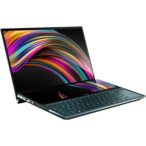 """ASUS 15.6"""" ZenBook Pro Duo UX581GV Multi-Touch Laptop (Celestial Blue)"""
