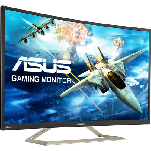 "ASUS VA326H 31.5"" 16:9 144 Hz Curved LCD Gaming Monitor"