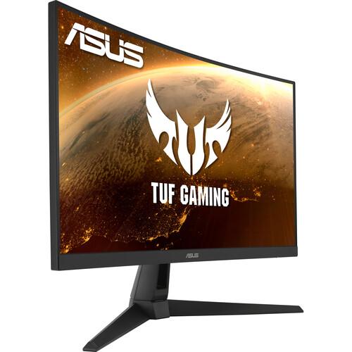 "ASUS TUF Gaming VG27WQ1B 27"" 16:9 Curved 165 Hz FreeSync QHD VA Gaming Monitor"
