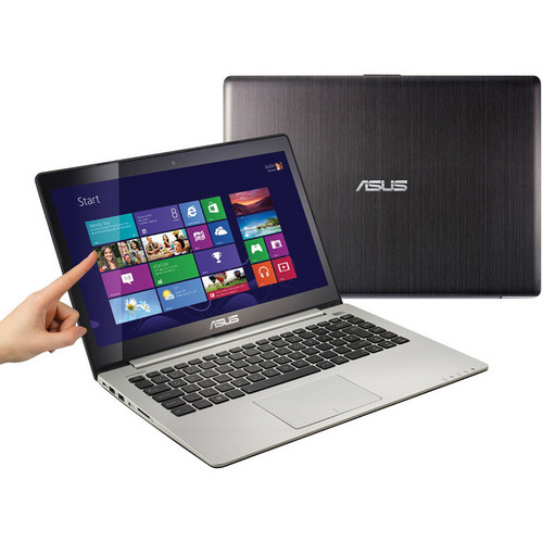 "ASUS VivoBook S400CA-DB51T 14"" Multi-Touch Ultrabook Computer (Black)"