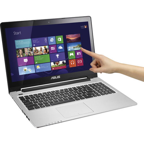 """ASUS VivoBook S550CA-DS51T 15.6"""" Multi-Touch Notebook Computer (Black)"""