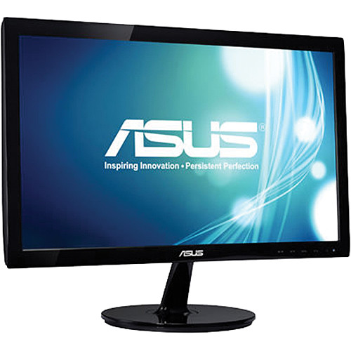 """ASUS VS207T-P 19.5"""" Widescreen LED Backlit Monitor with Built-In Speakers"""