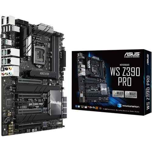 ASUS WS Z390 Pro LGA 1151 ATX Motherboard