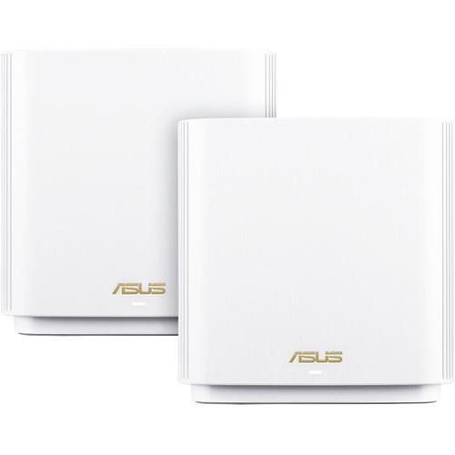 ASUS XT8 ZenWiFi AX6600 Wireless Tri-Band Mesh Wi-Fi System (2-Pack, White)