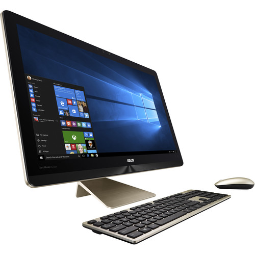 "ASUS 23.8"" Z240 Series Multi-Touch All-in-One Desktop Computer (Icicle Gold)"