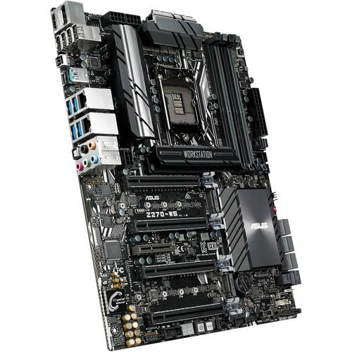 ASUS Z270-WS LGA1151 ATX Motherboard