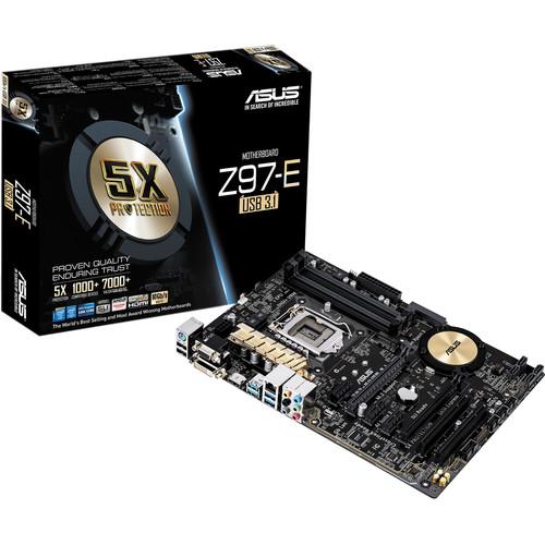 ASUS Z97-E/USB3.1 Motherboard