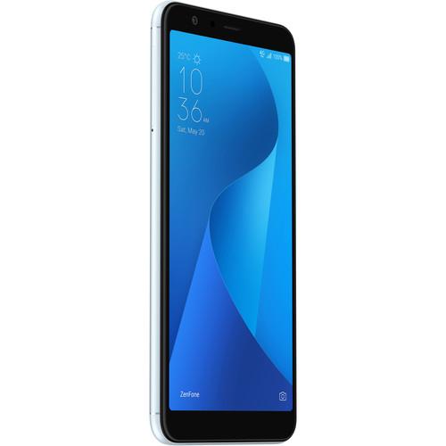 ASUS ZenFone Max Plus (M1) ZB570TL 32GB Smartphone (Unlocked, Azure Silver)