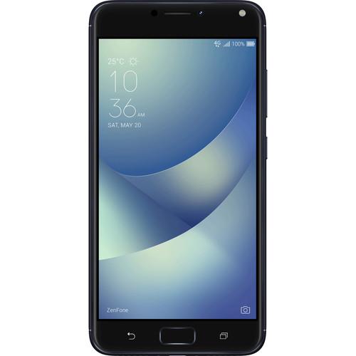 ASUS ZenFone 4 Max ZC554KL 32GB Smartphone (Unlocked, Deepsea Black)