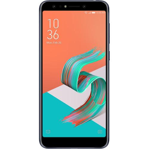 ASUS ZenFone 5Q Dual-SIM 64GB Smartphone (Unlocked, Black)