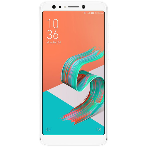 ASUS ZenFone 5Q Dual-SIM 64GB Smartphone (Unlocked, White)
