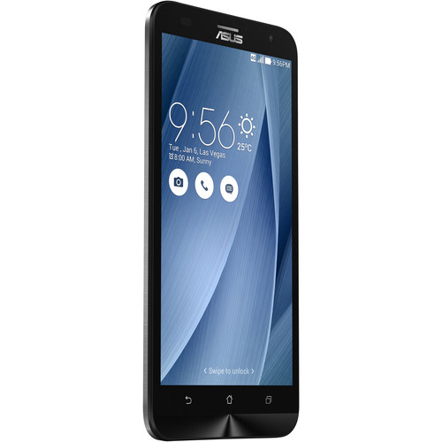 ASUS ZenFone 2 Laser ZE551KL 16GB Smartphone (Unlocked, Silver)