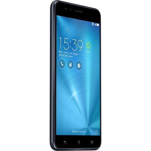 ASUS ZenFone 3 Zoom ZE553KL 32GB Smartphone (Unlocked, Navy Black)