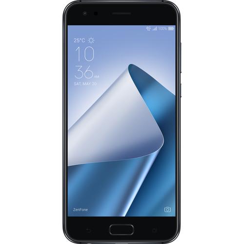 ASUS ZenFone 4 ZE554KL 64GB Smartphone (Unlocked, Midnight Black)