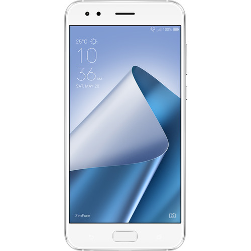 ASUS ZenFone 4 ZE554KL 64GB Smartphone (Unlocked, Moonlight White)