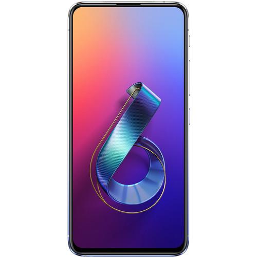 ASUS ZenFone 6 ZS630KL Dual-SIM 64GB Smartphone (Unlocked, Twilight Silver)