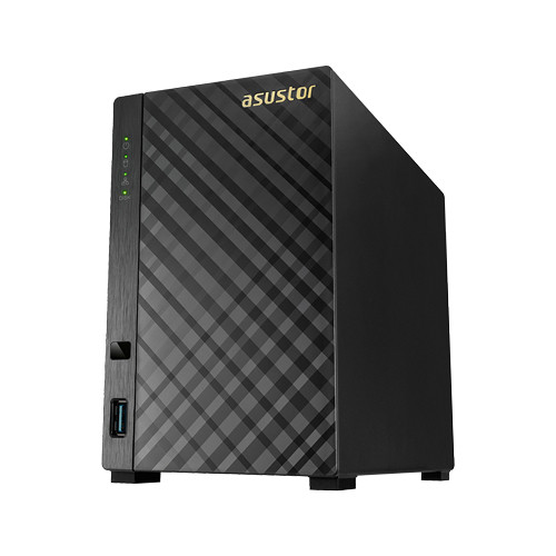 Asustor AS1002T 12TB 2-Bay NAS Server Kit with Drives (2 x 6TB)