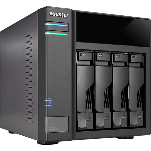 Asustor AS6004U 4-Bay Expansion Box Supports USB3.0 Power Sync Mechanism