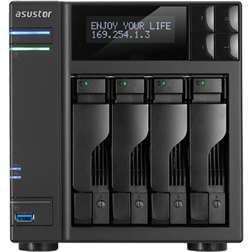 Asustor AS7004T 4-Bay Prosumer SMB NAS Server