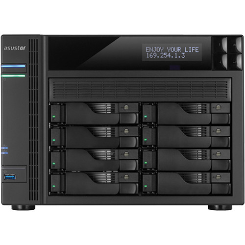 Asustor AS7008T 8-Bay Enterprise & Multimedia SMB NAS Server