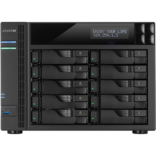 Asustor AS7010T 10-Bay Enterprise & Multimedia SMB NAS Server