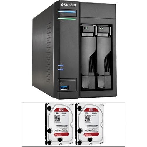 Asustor 4TB (2 x 2TB) 2-Bay NAS RAID Kit