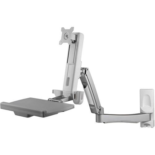 Atdec Sit-to-Stand Adjustable Workstation (Wall Mountable)