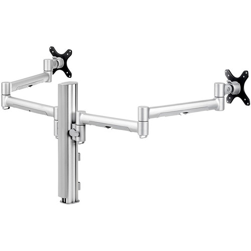 Atdec Systema SD7140S Dual Arm Desk Mount (Silver)