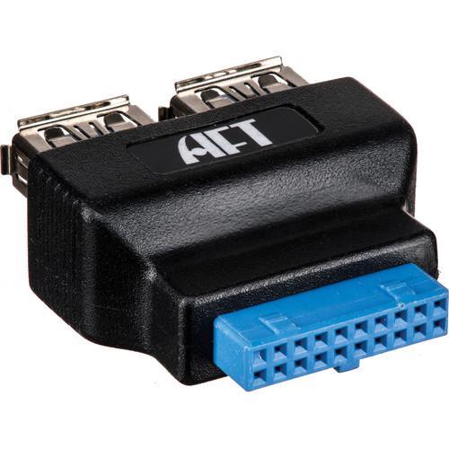 Atech Flash Technology U320A USB 3.0 Type-A to 20-Pin Adapter