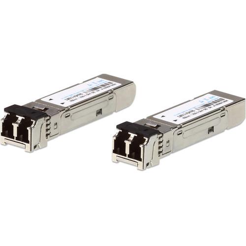ATEN Fiber Single-Mode 1.25 Gb/s SFP Transceiver Module (10km, 2 Modules)