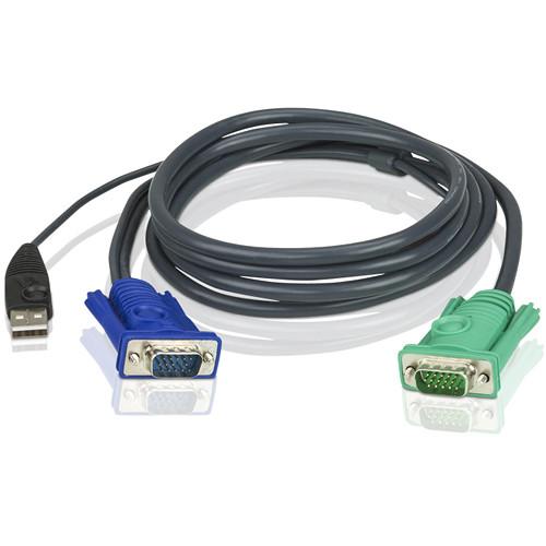 ATEN 2L-5201U USB KVM Cable (4')