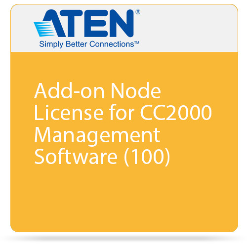 ATEN Add-on Node License for CC2000 Management Software (100)