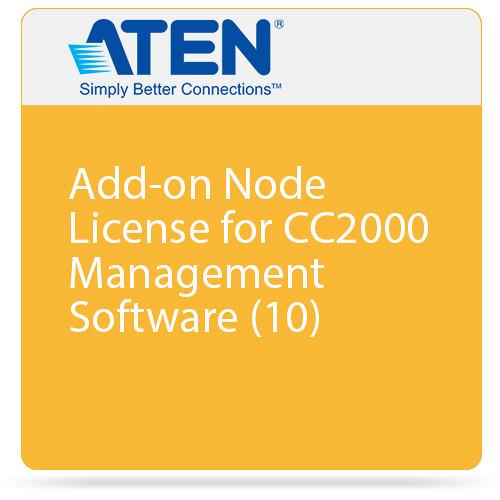 ATEN Add-on Node License for CC2000 Management Software (10)