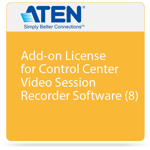 ATEN Add-on License for Control Center Video Session Recorder Software (8)